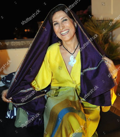 Iranian Actress Fatemeh Motamed-arya Attends a Party After She Received the Taormina Arte Award on Behalf of Iranian Director Jafar Panahi (unseen) at the 2010 Taormina Film Festival in Taormina Sicily Island Italy 15 June 2010 the 56th Edition of the Festival Runs From 12 Until 18 June Italy Taormina