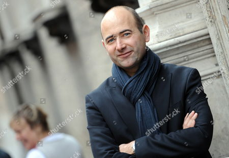 French Director Laurent Tirard Poses For Photographs After a Press Conference to Promote His Movie 'Le Petit Nicolas' (english Title: Little Nicholas) in Rome Italy 22 March 2010 Italy Rome