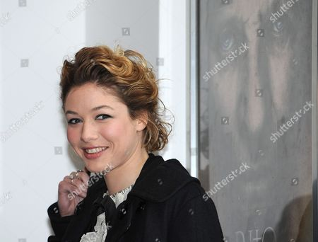 British Actress and Cast Member Sarah Felberbaum Poses During a Photocall For the Movie 'Il Gioiellino' (the Gem) in Rome Italy 01 March 2011 the Movie by Italian Director Andrea Molaioli Will Premiere in Italy on 04 March 2011 Italy Rome