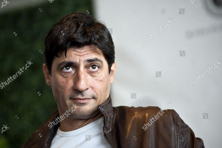 Italian Actor Emilio Solfrizzi Poses For a Photograph at Presentation of the Film 'Se Sei Cosi' Ti Dico Si ' (if That's what You Are Like I'll Say Yes to You) Directed by Italian Eugenio Cappuccio in Rome Italy 12 November 2010 Italy Rome