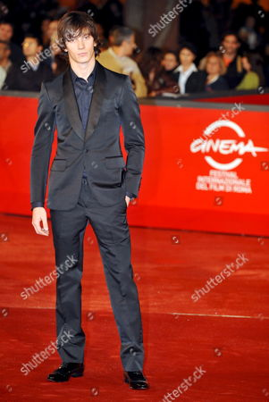 Federico Costantini Poses on the Red Carpet As He Arrives For the Screening of the Film 'Aide-toi Et Le Ciel T'aidera' (with a Little Help From Myself) by French Francois Dupeyron Late 27 October 2008 Presented in Competition at the 3rd Rome International Film Festival in Rome Italy Italy Rome