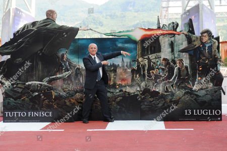 Festival President Claudio Gubitosi Poses on Red Carpet For the Premiere of 'Harry Potter and the Deathly Hallows Part 2' at the Giffoni Film Festival (film Festival For Children and Youth in Giffoni) on 12 July 2011 Giffoni Valle Piana Salerno Southern Italy Italy Giffoni Valle Piana
