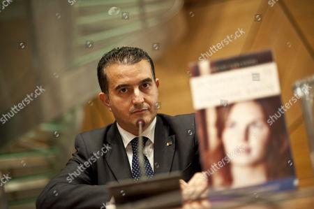 Editorial photo of Italy Literature Rocco Girlanda - Oct 2010