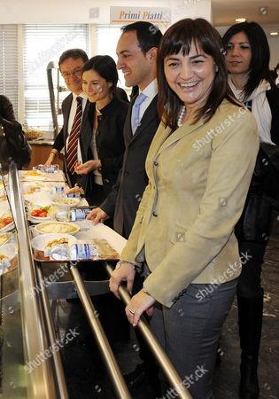 The New President of the Lazio Region Renata Polverini in Rome Italy on 16 April 2010 Polverini of Italian Premier Silvio Berlusconi's Conservative Coalition Defeated Emma Bonino a Former European Union Commissioner in the 29 March 2010 Elections Italy Rome