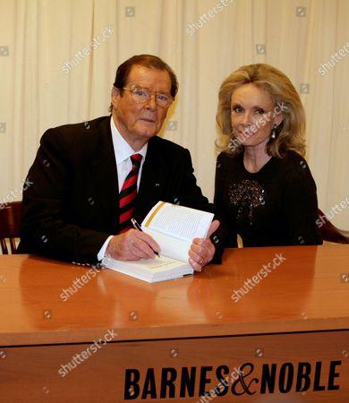 Roger Moore and his wife Christina 'Kiki' Tholstrup