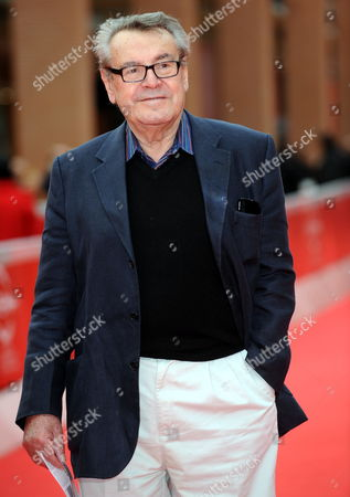 Czech Director Milos Forman Attends the Premiere of the Movie 'After' Presented in the Official Competition of the 4th Annual Rome Film Festival in Rome Italy 17 October 2009 the Festival Runs From 15 to 23 October Italy Rome