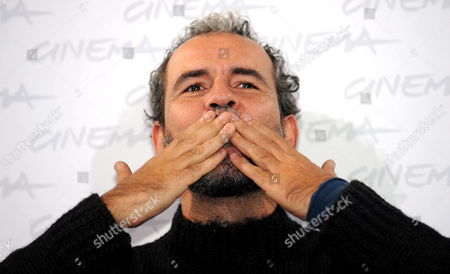 Spanish Actor Guillermo Toledo Poses For Photographs During a Photocall For the Movie 'After' Presented in the Official Competition of the 4th Annual Rome Film Festival in Rome Italy 17 October 2009 the Festival Runs From 15 to 23 October Italy Rome
