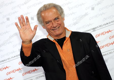 Italian Actor Giorgio Colangeli Poses During a Photocall For His Film 'Marpiccolo' at the Rome International Film Festival 20 October 2009 the Movie by Italian Director Alessandro Di Robilant is Presented in Competition in the 'Alice Nella Citta' Section of the Festival Running From 15 to 23 October Italy Rome