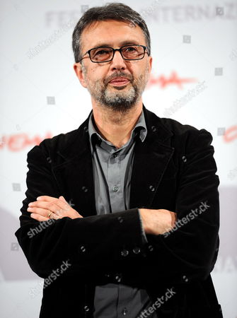 Italian Director Guido Chiesa Poses During the Photo Call For the Movie 'Io Sono Con Te' at the 5th Annual Rome Film Festival in Rome Italy 03 November 2010 the Movie is Presented in the Official Competition at the Festival That Runs From 28 October to 05 November Italy Rome