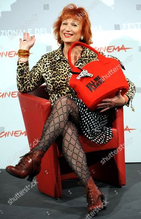 Member Cast Actress Travestie Star Zazie De Paris Poses During the Photo Call For the Movie 'Kill Me Please' at the 5th Annual Rome Film Festival in Rome Italy 03 November 2010 the Movie by French Director Olias Barco is Presented in Official Competition at the Festival That Runs From 28 October to 05 November Italy Rome