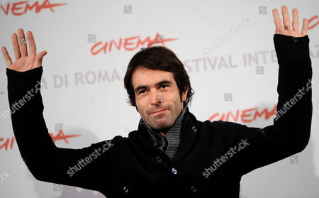 Spanish Director Christian Molina Poses During the Photo Call For the Movie 'I Want to Be a Soldier' at the 5th Annual Rome Film Festival in Rome Italy 02 November 2010 the Movie by Spanish Director Christian Molina is Presented out Competition at the Festival That Runs From 28 October to 05 November Italy Rome