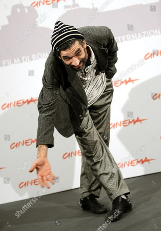 Tunisinian Actor Mustapha Benstiti Poses During the Photo Call For the Movie 'Io Sono Con Te' at the 5th Annual Rome Film Festival in Rome Italy 03 November 2010 the Movie by Italian Director Guido Chiesa is Presented in the Official Competition at the Festival That Runs From 28 October to 05 November Italy Rome