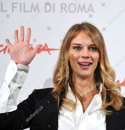 Stock Photo of Slovak-italian Actress Antonia Liskova Poses During a Photocall For the Movie 'Le Cose Che Restano' (longlasting Youth) at the 5th Annual Rome Film Festival in Rome Italy 04 November 2010 the Movie by Italian Director Gianluca Maria Tavarelli is Presented in the Special Events Section of the Festival That Runs From 28 October to 05 November Italy Rome