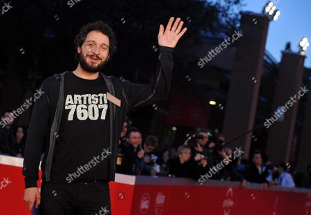 Stock Picture of Italian Actor and Cast Member Claudio Santamaria Arrives at the Premiere of the Movie 'Le Cose Che Restano' at the 5th Annual Rome Film Festival in Rome Italy 04 November 2010 the Movie by Italian Director Gianluca Maria Tavarelli is Presented in the Special Events Section of the Festival That Runs From 28 October to 05 November Italy Rome