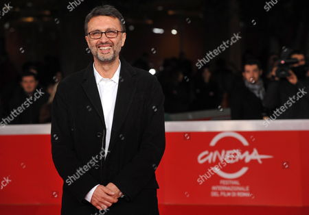Stock Picture of Italian Director Guido Chiesa Poses Upon His Arrival to the Premiere of His Movie 'Io Sono Con Te' at the 5th Annual Rome Film Festival in Rome Italy 03 November 2010 the Movie is Presented in the Official Competition at the Festival That Runs From 28 October to 05 November Italy Rome