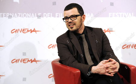 Stock Photo of Irish Director Ger Leonard Poses During the Photocall For the Movie 'Five Day Shelter' at the 5th Annual Rome Film Festival in Rome Italy 01 November 2010 His Movie is Presented in the Official Competition of the Festival That Runs From 28 October to 05 November Italy Rome