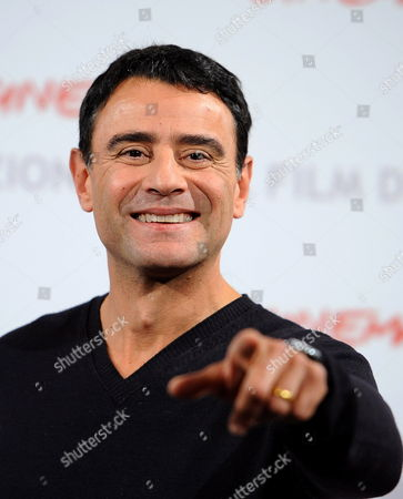 Italian Actor and Cast Member Vincenzo Amato Poses During the Photocall For the Movie 'La Scuola E' Finita' at the 5th Annual Rome Film Festival in Rome Italy 29 October 2010 the Movie by Italian Director Valerio Jalongo is Presented in the Official Competition of the Festival That Runs From 28 October to 05 November Italy Rome