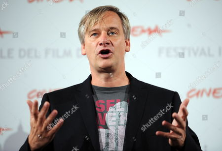 German Director Chris Kraus Poses During the Photocall For the Movie 'The Poll Diaries ' at the 5th Annual Rome Film Festival in Rome Italy 31 October 2010 the Movie is Presented in Official Competition the Festival That Runs From 28 October to 05 November Italy Rome