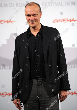 German Actor Edgar Selge Poses During the Photocall For the Movie 'The Poll Diaries' at the 5th Annual Rome Film Festival in Rome Italy 31 October 2010 the Movie by German Director Chris Kraus is Presented in Official Competition the Festival That Runs From 28 October to 05 November Italy Rome