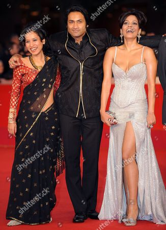 Indian Actors Cast Members (r-l) Priyanka Bose Samrat Chakrabarti and Tillotama Shome Pose During the Premiere For the Movie 'Gangor ' at the 5th Annual Rome Film Festival in Rome Italy 31 October 2010 the Movie by Italian Director Italo Spinelli is Presented in Official Competition the Festival That Runs From 28 October to 05 November Italy Rome