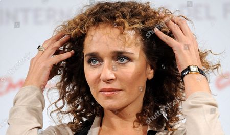 Stock Image of Italian Actress and Cast Member Valeria Golino Poses During the Photocall For the Movie 'La Scuola E' Finita' at the 5th Annual Rome Film Festival in Rome Italy 29 October 2010 the Movie by Italian Director Valerio Jalongo is Presented in the Official Competition of the Festival That Runs From 28 October to 05 November Italy Rome