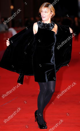 Italian Actress Margherita Buy Poses on the Red Carpet at the 5th Annual Rome Film Festival in Rome Italy 31 October 2010 the Movie by Italian Director Italo Spinelli is Presented in Official Competition the Festival That Runs From 28 October to 05 November Italy Rome