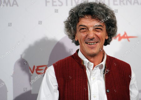 Italian Director Italo Spinelli Poses During the Photocall For the Movie 'Gangor' at the 5th Annual Rome Film Festival in Rome Italy 31 October 2010 the Movie is Presented in Official Competition the Festival That Runs From 28 October to 05 November Italy Rome