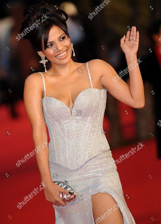 Indian Actress Priyanka Bose Poses During the Premiere For the Movie 'Gangor' at the 5th Annual Rome Film Festival in Rome Italy 31 October 2010 the Movie by Italian Director Italo Spinelli is Presented in Official Competition the Festival That Runs From 28 October to 05 November Italy Rome