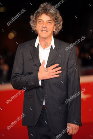Italian Director Italo Spinelli Poses During the Premiere For the Movie 'Gangor ' at the 5th Annual Rome Film Festival in Rome Italy 31 October 2010 the Movie is Presented in Official Competition the Festival That Runs From 28 October to 05 November Italy Rome