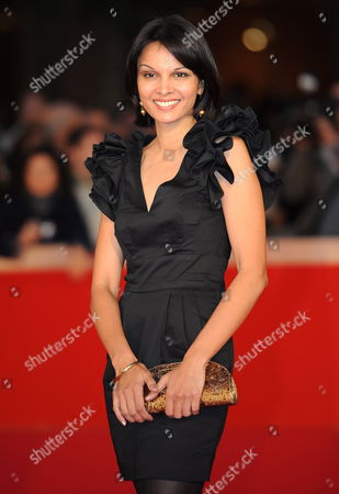 Indian Actress Seema Ramani Poses During the Premiere For the Movie 'Gangor ' at the 5th Annual Rome Film Festival in Rome Italy 31 October 2010 the Movie by Italian Director Italo Spinelli is Presented in Official Competition the Festival That Runs From 28 October to 05 November Italy Rome
