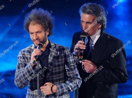 Editorial photo of Italy Sanremo Song Festival - Feb 2011