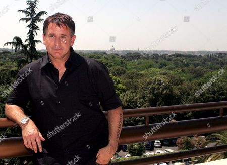 Stock Picture of Australian Actor Anthony La Paglia Cast Member of the Television Series 'Without Trace' Poses For Photographs After a Press Conference in Rome Italy 26 May 2009 Italy Rome