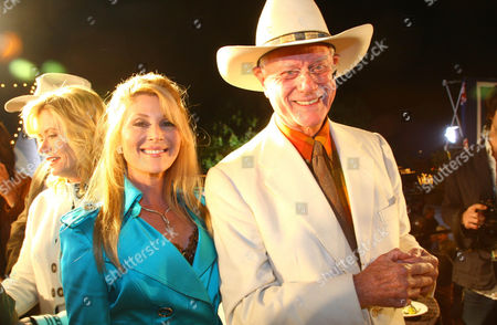 Editorial image of 30th Anniversary Reunion of the TV show 'Dallas' at South Fork Ranch, Plano, Texas, America - 08 Nov 2008