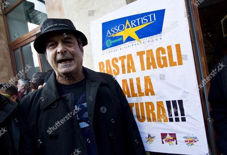Editorial picture of Italy Theatre Strike - Nov 2010