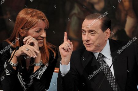 Italian Premier Silvio Berlusconi (r) and Tourism Minister Michela Vittoria Brambilla Present a New Initiative to Boost Tourism in Italy Through 1 6 Billion Euros in Loans From Private Banks in Rome Italy on 03 June 2009 During the Presentation Berlusconi Statet That 'Tourism was a Sector with Great Potential For Expansion That Could Contribute to Boosting the Nation's Gdp Italy Roma