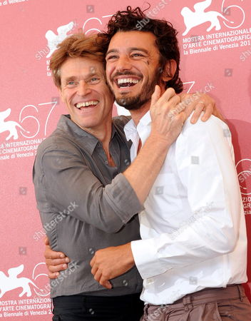 Us Actor Willem Dafoe (l) and Italian Actor Michele Venitucci Pose During the Photocall For the Movie 'A Woman' Poses During the Photocall For Her Movie 'A Woman' at the 67th Annual Venice Film Festival in Venice Italy 04 September 2010 the Movie by Italian Director Giada Colagrande is Presented in the 'Controcampo Italiano' Section at the Festival Running From 01 to 11 September Italy Venice