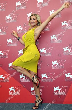 Stock Image of Italian Porn Actress Vittoria Risi Poses For Photographs During the 67th Annual Venice Film Festival in Venice Italy 02 September 2010 the Festival Runs From 01 to 11 September 2010 Italy Venice