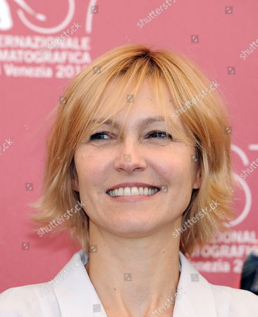Jury Member Lithuanian Actress Ingeborga Dapkunaite Poses During a Photocall at the 67th Annual Venice Film Festival in Venice Italy 01 September 2010 the Festival Runs From 01 to 11 September 2010 Italy Venice