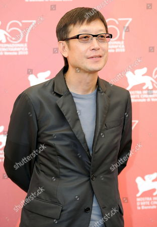 Chinese Director Andrew Lau Poses During the Photocall For His Movie 'Legend of the First: the Return of Chen Zhen' at the 67th Annual Venice Film Festival in Venice Italy 01 September 2010 the Movie is Presented out of Competition at the Festival Running From 01 to 11 September Italy Venice