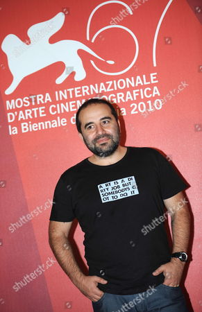 French Director Antony Cordier Poses During a Photocall For the Movie 'Happy Few' at the 67th Annual Venice Film Festival in Venice Italy 03 September 2010 the Movie is Presented in the International Competition 'Venezia 67' at the Festival Running From 01 to 11 September 2010 Italy Venice