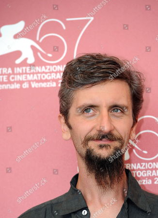 Italian Director and Actor Ascanio Celestini Poses During the Photocall For the Movie 'La Pecora Nera' at the 67th Annual Venice Film Festival in Venice Italy 02 September 2010 the Movie is Presented in the International Competition 'Venezia 67' at the Festival Running From 01 to 11 September 2010 Italy Venice
