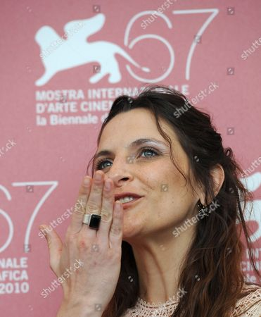Chilean Actress Antonia Zegers Poses During the Photocall For the Movie 'Post Mortem' at the 67th Annual Venice Film Festival in Venice Italy 05 September 2010 the Movie by Chilean Director Pablo Larrain is Presented in the International Competition 'Venezia 67' at the Festival Running From 01 to 11 September Italy Venice
