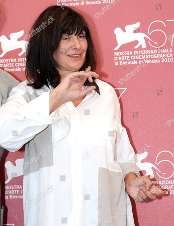 French Director Catherine Breillat Poses During the Photocall For the Movie 'La Belle Endormie' (the Sleeping Beauty) at the 67th Annual Venice Film Festival in Venice Italy 02 September 2010 the Movie is Presented in the Orizzonti New Trends in World Cinema Section at the Festival Running From 01 to 11 September 2010 Italy Venice
