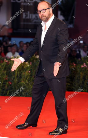 Us Actor/cast Member Paul Giamatti Arrives For the Premiere of the Movie 'Barney's Version' at the 67th Annual Venice Film Festival in Venice Italy 10 September 2010 the Movie by Canadian Director Richard J Lewis is Presented in the International Competition 'Venezia 67' at the Festival Running From 01 to 11 September Italy Venice
