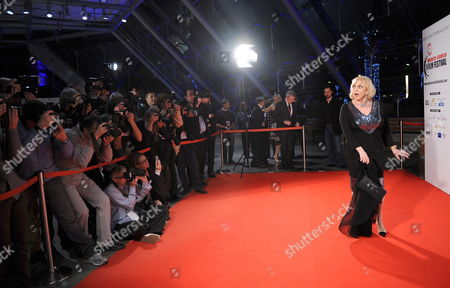 French Actress Michele Mercier Poses Prior to the Screening of the Film 'Up in the Air ' by Canadian Director Jason Reitman at the Monte-carlo Film Festival De La Comedie 27 November 2009 in Monte Carlo Monaco the Festival Runs Until 28 November Monaco Monte Carlo