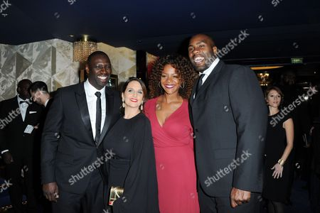 Omar Sy, Teddy Riner and Luthna Plocus