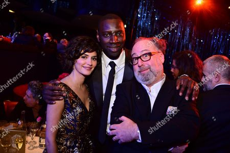 Audrey Tautou and Omar Sy