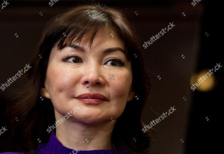 The Wife of Kazakh Oligarch and Political Dissident Mukhtar Ablyazov Alma Shalabayeva During a Press Conference at Saint Regis Hotel in Rome Italy 27 December 2013 the Wife of Kazakh Oligarch and Political Dissident Mukhtar Ablyazov Returned to Italy on 27 December 2013 After Kazakhstan Lifted a Ban on Her Movements This Week Media Reports State Alma Shalabayeva and Her Then Six-year-old Daughter Were Deported on a Private Jet to Kazakhstan After They Were Seized in May 2013 in a Raid on a Villa in Rome by Italian Police Following Pressure From Kazak Officials Causing a Major International Scandal Italy Repealed Her Expulsion Order After It Emerged Shalabayeva Had the Legal Right to Reside in Italy Italy Rome