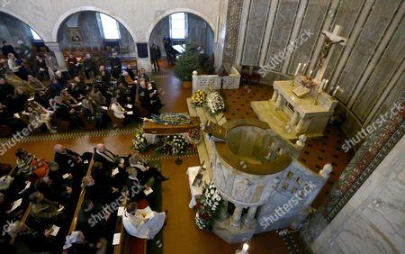 Editorial picture of Italy Anita Ekberg Funeral - Jan 2015