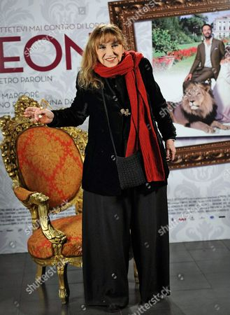 Italian Actress /cast Member Piera Degli Esposti Poses For Photographs During the Photocall For the Movie 'Leoni' in Rome Italy 29 January 2015 the Movie Will Be Released in Italian Theaters on 05 February Italy Rome